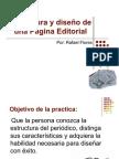Estructura y diseño de una Página Editorial
