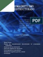 FERROMAGNETISMO NANOESTRUCTURADO (2)