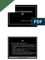 Redes Clase 04 (Direccionamiento)-2010-II