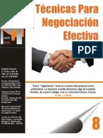 8 Técnicas Para Negociacion Efectiva