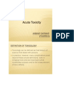 Acute Toxicity Study