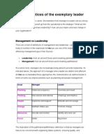 Strategic Leadership 8.07