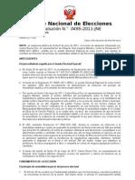 Resolucion 0495 - 2011 - JNE Caso Zegarra