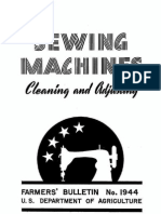 Sewing Machine Clean & Adjust