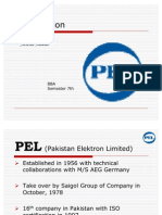 45898623 Marketing Plan of Pel (1)