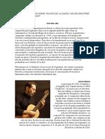 APUNTES ANALÍTICOS SOBRE ELOGIO DE LA DANZA
