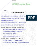 2005-06 Lake County Grand Jury Final Report