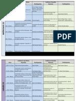 PROGRAMA OFICIAL FELIZH 2011