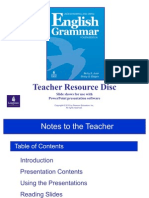 UUEG PPTs Notes to the Teacher