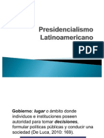 Presidencialismo Latinoamericano