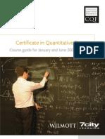 Cqf Brochure
