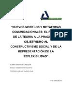 Nuevos Modelos y Metaforas Comunicacionales Capiii