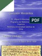 Contusion Miocardica