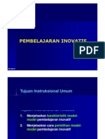 Copy of Model Pembelajaran Inovatif