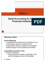 TOPIC 9, Zakat Accounting