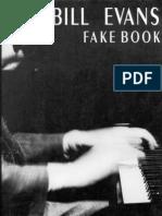 BOOK Bill Evans Fakebook 106