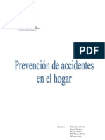 Prevencion de Accidentes en El Hogar