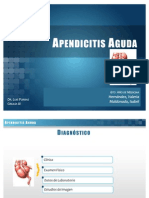 Apendicitis Cirugia 6to