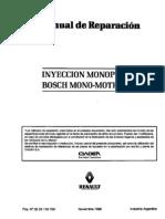 Inyeccion Mono Bosch monomotronic
