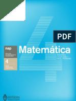 Matemática 2º ciclo de la EGB. Nivel Primario