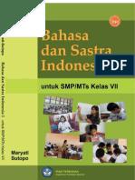 Kelas07 Bahasa Dan Sastra Indonesia 1 Maryati Sutopo