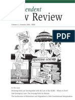Independent Law Review, Volume 4, Summer 2008