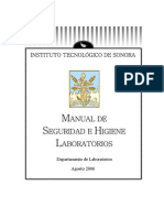 Manual de Seg e Hig Lab Oratorios