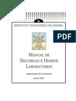 Manual de Seg e Hig Lab Oratorios