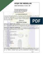 Acuerdo 43 de 2007 PP