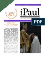 iPaul no. 4 - Saint Paul Scholasticate Newsletter