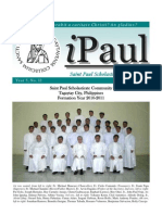 iPaul no 12 - Saint Paul Scholasticate Newsletter