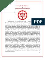 54044880 Circulo Acanto 19 Breve Resena Historica Martinismo