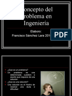Concepto Del Problema en Ingenieria