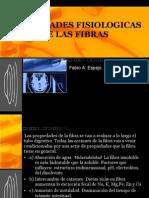 PROPIEDADES FISIOLOGICAS DE LAS FIBRAS
