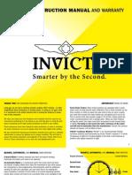 IBJSC.com - Invicta Men's 1091 Russian Diver Mechanical Skeleton Dial Black Polyurethane Watch
