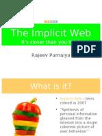 Implicit Web