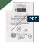 Reconocimiento Oficial Del Sindicato Electo