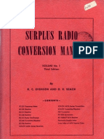 Surplus Radio Conversion Manual Volume 1