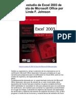 Guía de estudio de Excel 2003 de especialista de M - 5 estrellas reseña del libro