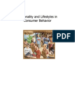Personality and Lifestyles in Consumer Behavior