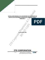 Instalacion Manual de Los Drivers Modem Zte