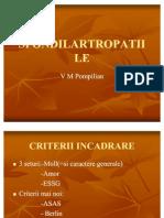 SPONDILARTROPATIILE