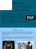 M -Learning y E- Learning