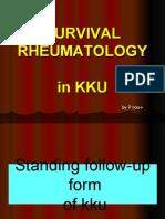 Survival Rheu5 in Kku