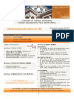 Fulbright Undergraduate Newsletter_Winter 2011