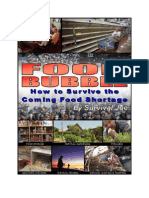Food Bubble - How to Survive the Coming Food Shortage