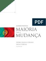 Acordo 2011 PSD & CDS