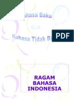 Kata Baku Dan Tak Baku