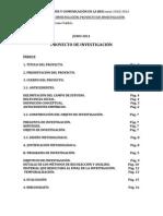 Metodología de la Investigación - Proyecto Final - Educomunicación en las aulas de Secundaria.