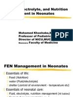 Fliud and Electrolyte in Neonate